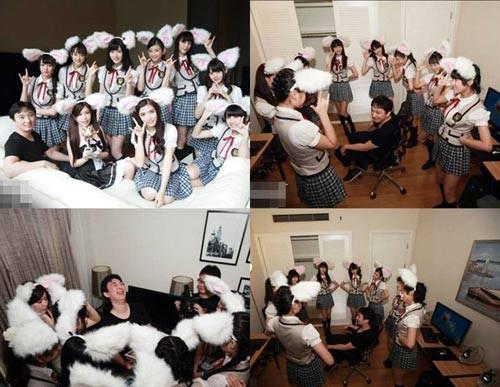Thiếu gia Trung Quốc chơi trội mời 150 người mẫu đến dự sinh nhật - ảnh 5