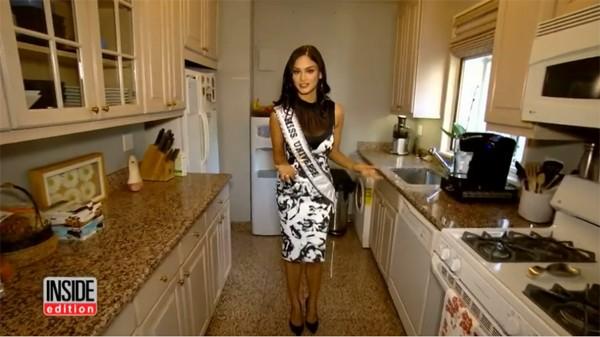 Tân Hoa hậu Hoàn vũ Thế giới hé lộ căn hộ xa hoa ở Mỹ - ảnh 4