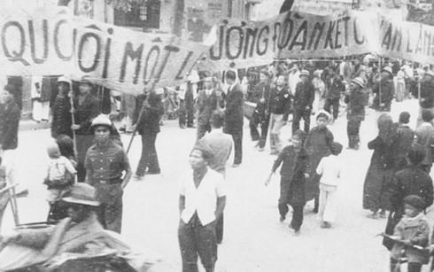 Những hình ảnh lịch sử về ngày Tổng tuyển cử đầu tiên 6/1/1946 - ảnh 1