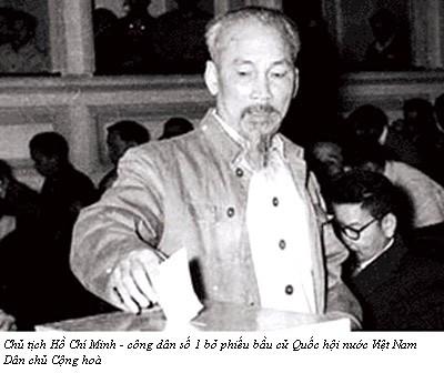Những hình ảnh lịch sử về ngày Tổng tuyển cử đầu tiên 6/1/1946 - ảnh 2