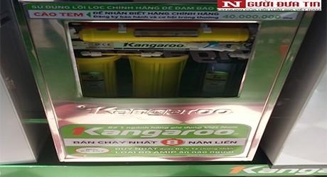 Máy lọc nước Kangaroo vẫn quảng cáo quá đà? - ảnh 2