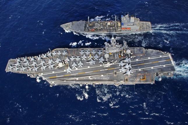 Hải quân Mỹ công bố chiến lược nhằm đối phó Nga, Trung Quốc - ảnh 1
