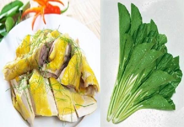 Có thể bạn chưa biết: Những loại rau, thực phẩm cấm ăn cùng thịt gà - ảnh 1