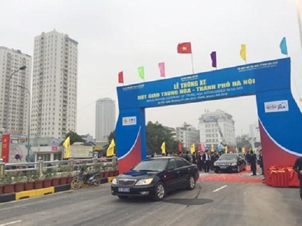 Chính thức thông xe hầm chui tại nút giao 4 tầng ở Hà Nội - ảnh 2
