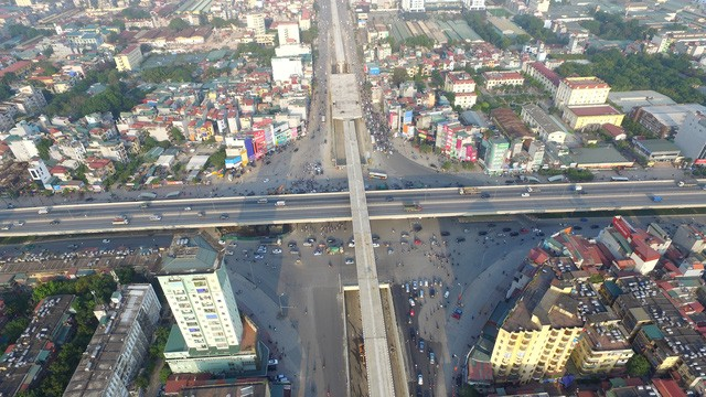 Chính thức thông xe hầm chui tại nút giao 4 tầng ở Hà Nội - ảnh 1