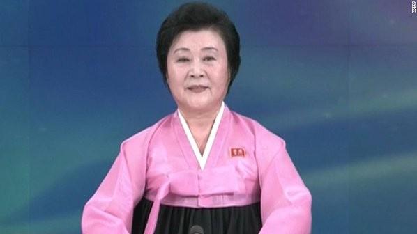 Phát thanh viên 72 tuổi đưa tin Triều Tiên thử bom nhiệt hạch - ảnh 1