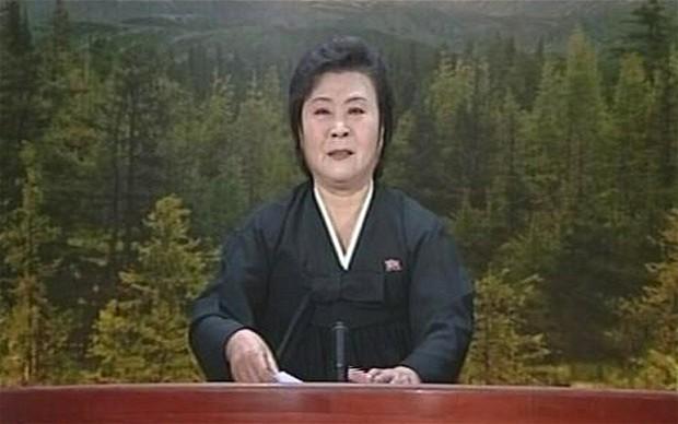 Phát thanh viên 72 tuổi đưa tin Triều Tiên thử bom nhiệt hạch - ảnh 2