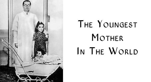 Bà mẹ trẻ nhất thế giới, sinh con khi mới 5 tuổi - ảnh 1