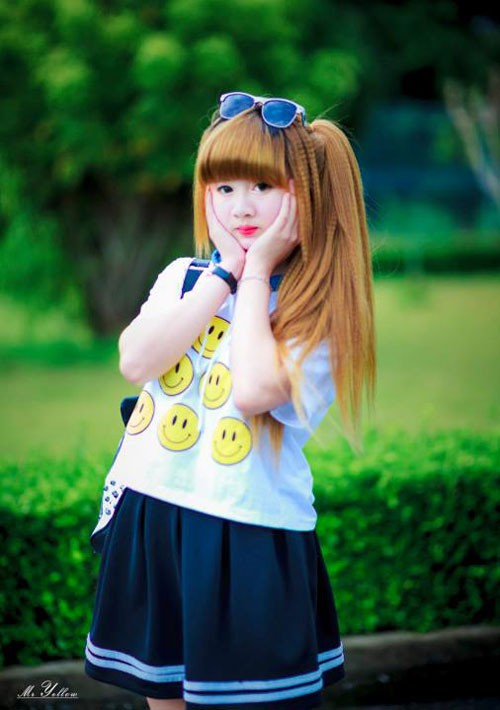 Thiếu nữ Gia Lai có gương mặt xinh như búp bê - ảnh 2