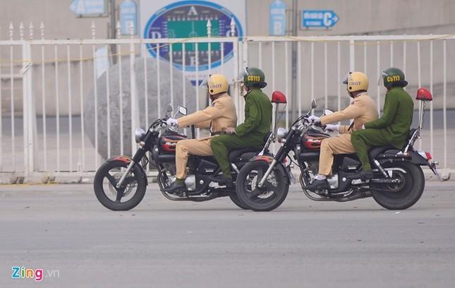 Tình huống thực binh chống bạo động bảo vệ Đại hội Đảng - ảnh 4