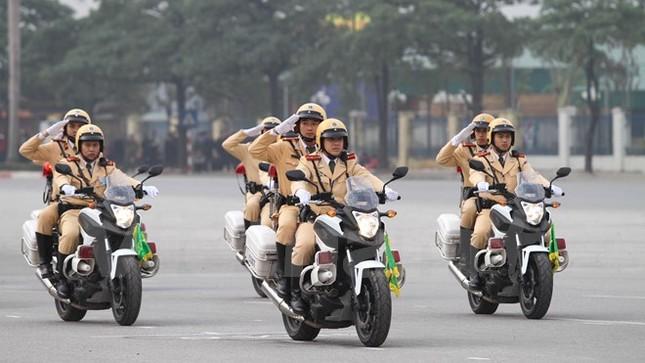 Bộ trưởng Trần Đại Quang phát lệnh xuất quân bảo vệ Đại hội Đảng - ảnh 4