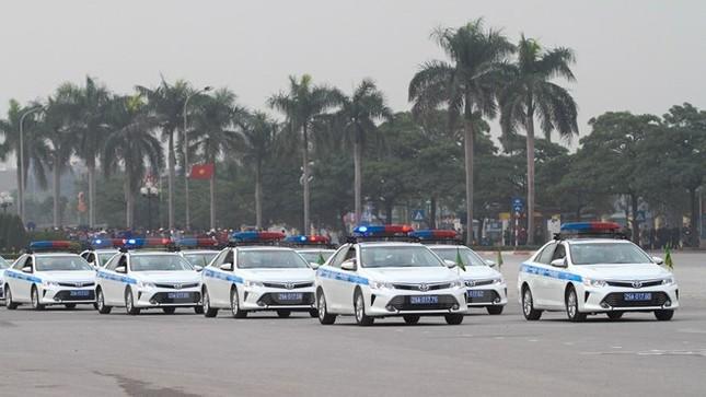 Bộ trưởng Trần Đại Quang phát lệnh xuất quân bảo vệ Đại hội Đảng - ảnh 9