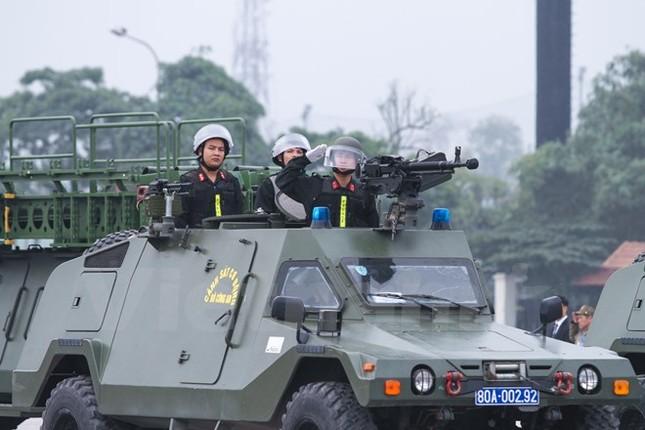 Bộ trưởng Trần Đại Quang phát lệnh xuất quân bảo vệ Đại hội Đảng - ảnh 10
