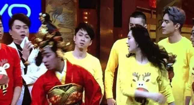 Phạm Băng Băng gây tranh cãi khi tát đồng nghiệp ở game show - ảnh 1