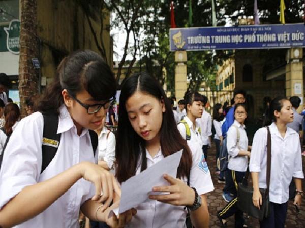 Những điểm cần lưu ý tuyển sinh vào lớp 10 ở Hà Nội năm 2016 - ảnh 1
