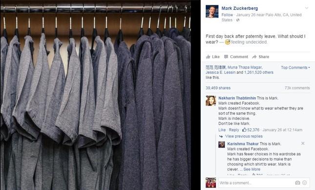 'Phát hờn' với tủ quần áo của Mark Zuckerberg - ảnh 2