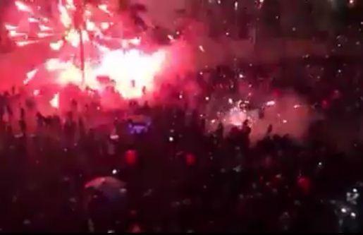 Sự cố bắn pháo hoa ở Quảng Ngãi: Do pháo bị ẩm? - ảnh 1