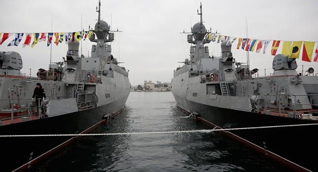 Nga điều chiến hạm mang tên lửa hành trình đến Địa Trung Hải - ảnh 1