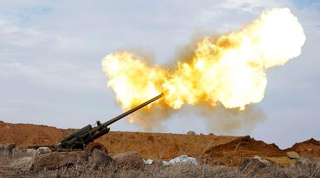 Damascus lên án Thổ Nhĩ Kỳ pháo kích vào quân đội Syria - ảnh 1