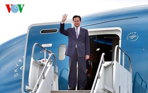 Thủ tướng Nguyễn Tấn Dũng tới California, Hoa Kỳ - ảnh 1