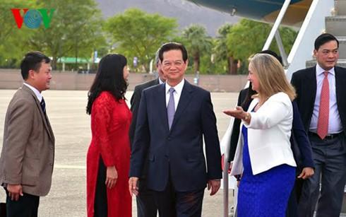 Thủ tướng Nguyễn Tấn Dũng tới California, Hoa Kỳ - ảnh 3