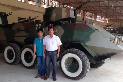 'Hai lúa' Việt chế tạo xe bọc thép, được Campuchia nể phục - ảnh 2