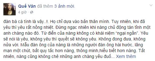 Quế Vân 'đăng đàn' mỉa mai Nhã Phương - ảnh 1
