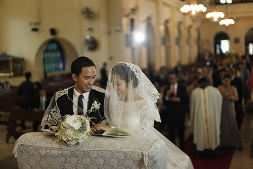 Hé lộ hình ảnh hiếm hoi của đám cưới Tăng Thanh Hà ở Philippines - ảnh 2