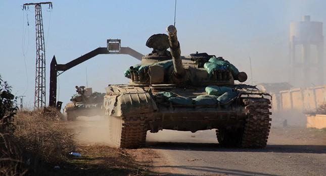 Quân đội Syria giải phóng nhiều ngôi làng chiến lược ở Aleppo - ảnh 1