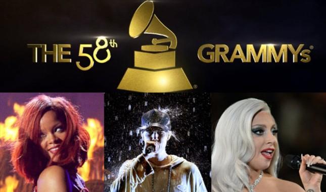 Nóng bỏng Lễ trao giải âm nhạc Grammy Awards 2016  - ảnh 1