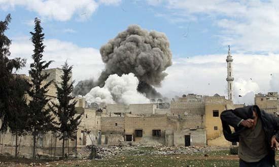 TNK nã 100 loạt pháo vào khu dân cư Aleppo, Syria - ảnh 1