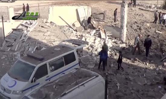Nga bác tin dùng tên lửa không kích bệnh viện ở Syria - ảnh 1