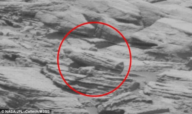 Phát hiện quan tài của người ngoài hành tinh trên Sao Hỏa? - ảnh 1
