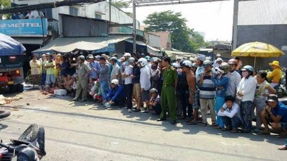 Hiện trường kinh hoàng vụ tai nạn giao thông ở Sài Gòn - ảnh 8