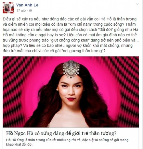 Hà Hồ kiện vợ đại gia Chu Đăng Khoa vì 'bôi nhọ, phỉ báng mình'? - ảnh 2