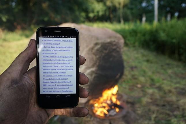 Bí ẩn hòn đá tự phát ra Wifi khi đốt nóng - ảnh 2