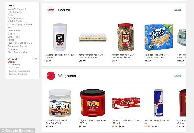 Google, Amazon 'rủ nhau' đi... bán rau - ảnh 2