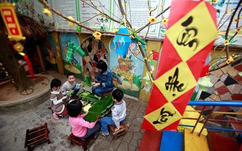 Những việc giúp trẻ hứng thú học trong ngày nghỉ Tết - ảnh 1