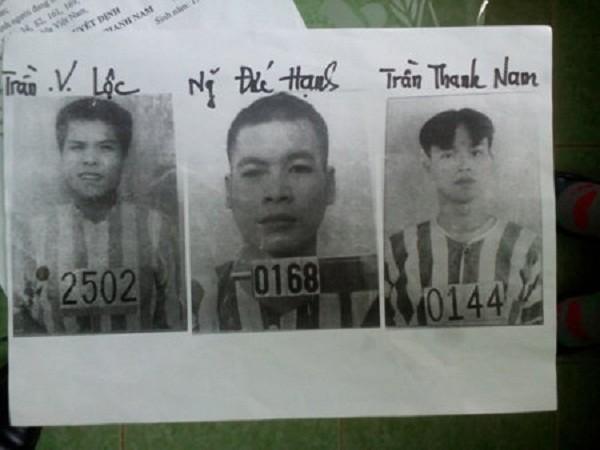 Truy nã đặc biệt 3 phạm nhân đào hầm  vượt ngục ở Gia Lai - ảnh 1