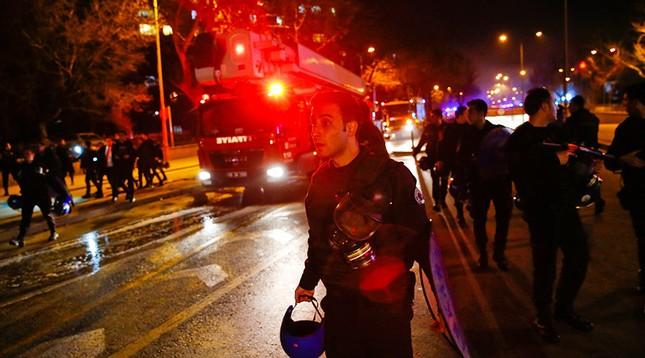 Phiến quân người Kurd nhận trách nhiệm vụ tấn công ở Ankara - ảnh 1