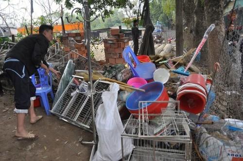 Hà Nội: Cháy lớn thiêu rụi 6 ki ốt kinh doanh tạp hóa - ảnh 2