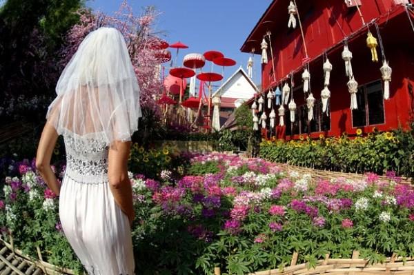 Cô dâu mặc váy cưới đi du lịch khắp Châu Âu một mình - ảnh 12