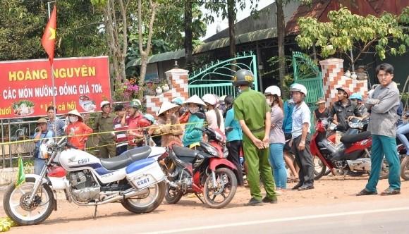 Vừa thêm 1 vụ thảm án ở Bình Phước - ảnh 1