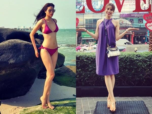 Phạm Hương nổi bật với túi ngàn đô, diện bikini gợi cảm - ảnh 1