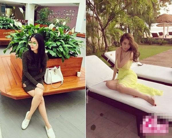 Bà xã Đăng Khôi thừa sức 'tay đôi' đọ body quyến rũ với Elly Trần - ảnh 10