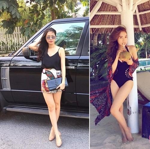 Bà xã Đăng Khôi thừa sức 'tay đôi' đọ body quyến rũ với Elly Trần - ảnh 3