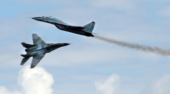 Nga triển khai thêm tiêm kích MiG-29 áp sát Thổ Nhĩ Kỳ - ảnh 1