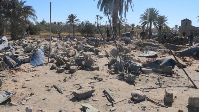 Libya chỉ trích Mỹ đơn phương không kích xâm phạm chủ quyền - ảnh 1
