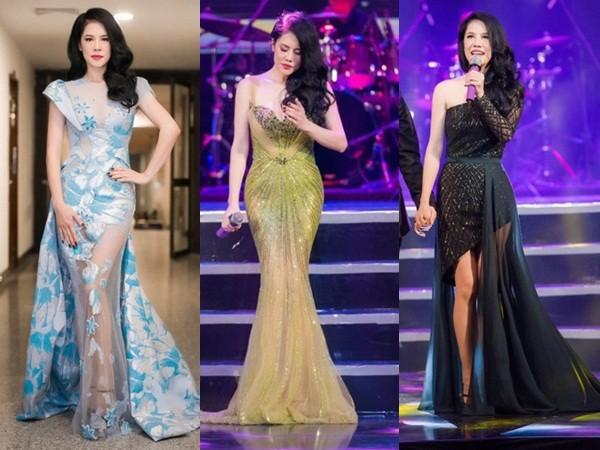 Mãn nhãn 8 bộ váy trong đêm 'Giữ lại hạnh phúc' của Thu Phương - ảnh 1