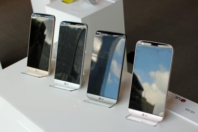 Ngắm LG G5 – smartphone đột phá và độc nhất của năm 2016 - ảnh 1